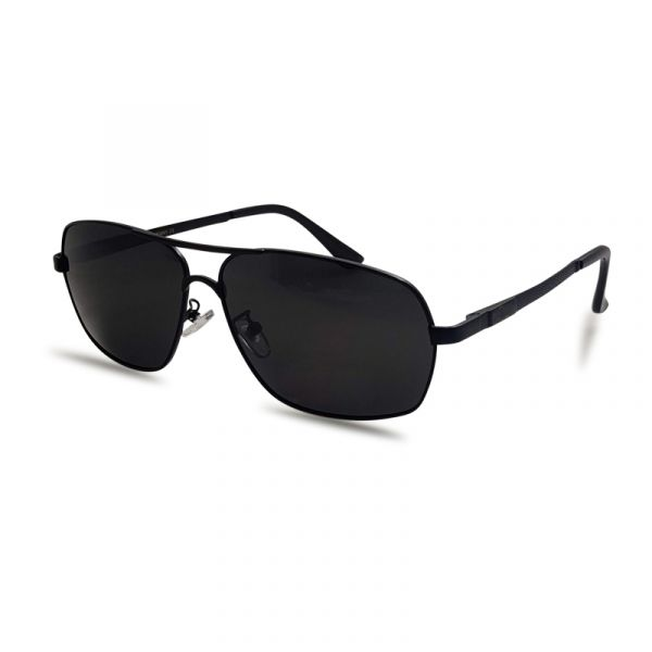 Black Metallic Polarized Sunglass