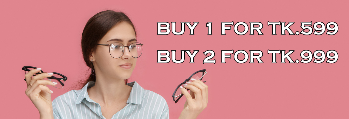 TWO EYEGLASSES TK.999